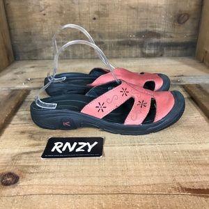 Keen Comfort Leather Slide Sandal